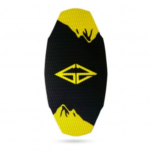 Skimboard GOZONE K2 (black/yellow)